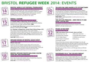 Refugee Week Events 2014